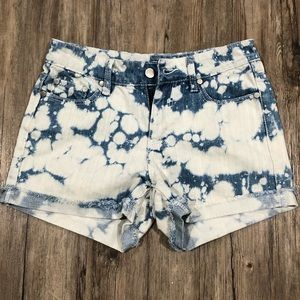 Minkpink Acid Washed Cut Off Shorts